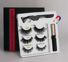 3 pairs Makeup of magnetic eyelashes - paires de cils magnétiques