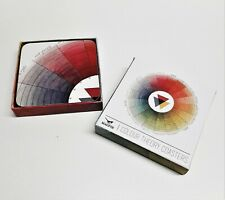 """Magpie """"Colour Theory"""" Set Of 4 Coasters New in Box"""