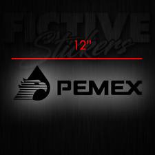 Pemex Sticker Decal 12 inch Black **FREE SHIPPING**