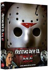 Blu Ray/DVD Freitag der 13. Teil 6 Uncut Mediabook - NEU - wattiert