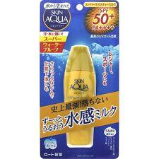 New ROHTO Skin Aqua Super Moisture Milk (SPF50 PA ++++) 40mL waterproof f/s