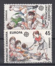 Briefmarken Europa Andorra (sp.. Post) CEPT ** 1989 Michel 209-210 Versand 0 EUR