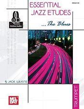 Essential jazz etudes... le blues pour trompette (livre/en ligne audio)