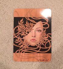 "Audrey Kawasaki ""Solitude"" card Hand SIGNED Mondo Art Print Autographed"