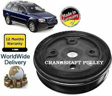 FOR VOLVO XC90 2.4 D5 DIESEL 2002--> NEW TVD CRANKSHAFT BELT PULLEY 30731865
