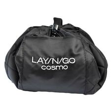 """Lay N Go Cosmo 20"""" Black Cosmetic Easy Travel Toiletry Makeup Bag Organizer Gift"""