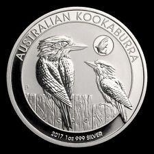 2017 1 oz .999 Silver Australian Kookaburra Shark Privy GEM BU Coin Mint Roll 2