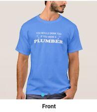 Men's Plumber T-Shirt - HALF PRICE SALE