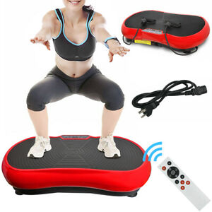 Whole Body Exercise 3D Vibration Platform Plate Fitness Massager Machine Slim