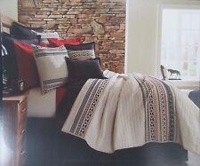 CREMIEUX Hunter TWIN Mini Quilt Set 1 Sham Tribal  NWT  NEW