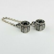 Authentic Pandora 925 Silver Safety Chain Clip On