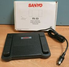 Sanyo FS-53 Transcription Foot Controller Switch Pedal Transcribing 6-Pin