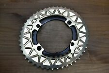46/30t absoluteBLACK Champagne Shimano 9100 9000 Oval Sub-compact Chainrings