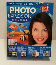 Digital Photo Explosion Deluxe Software Version 3 Nova - 4 Discs & Manual