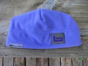 Banded Gear Logo Women's Purple UFS Fleece Skull Cap Hat Beanie Double Thick