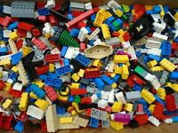 LEGOs by The Pound (Sanitized) GENUINE Bulk Lot Assorted Bricks, Parts & Pieces