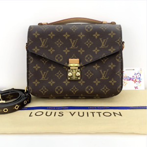 Louis Vuitton Monogram Pochette Metis Crossbody Satchel Handbag
