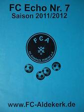 Programm 2011/12 FC Aldekerk - SGE Bedburg Hau