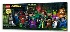"Lego Batman   Canvas 22 ""x 10""  Framed Picture"