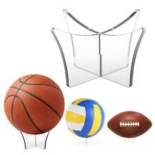 Acrylic Clear Ball Display Stand Rugby Basketball Football Soccer Holder