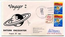 1981 Voyager 2 Saturn Ecounter Fly By Pasadena California SPACE NASA USA