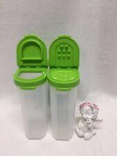 2x Gewürzriesen Gewürzbehälter 270ML Limette Grün  A91 Eidgenossen Tupperware