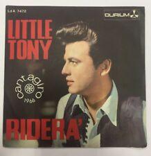 Little Tony - Riderà/Il mio amore con Giulia