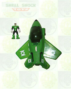 Fisher-Price: Hero World: DC Super Freinds: Electronic GREEN LANTERN JET