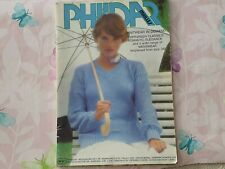 Phildar Mailles No57 knitting for KADISCHA , ANOUCHKA and other yarns