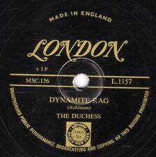 SCARCE GOLD LONDON 78 THE DUCHESS WANG WANG BLUES / DYNAMITE RAG UK LON  L1157 E