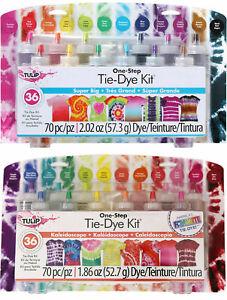 Tulip One Step Tie-Dye Kit - 12 Colours (Kaleidoscope or Super Big)