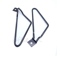 Saddle bag Support Bars Mount Bracket Black For Harley Sportster Dyna Fat bob