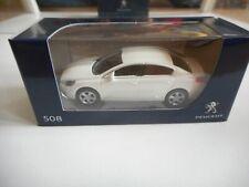 Norev Peugeot 508 in White on 1:64 in Box
