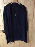 RIVER ISLAND Men's Cardigan Size S Navy RRP £30