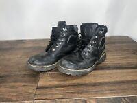 Men's Dr Doc Martens Smooth  Boots Black Size 8 N6