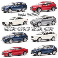 1:64 Infiniti QX60 QX50 QX30 Q60 Diecast Car Model SUV Model Toys New In Box
