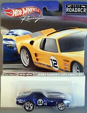 HOT WHEELS RACING 2012 ROADRCR JAMES GARNER'S COPO CORVETTE CANADA RELEASE ONLY