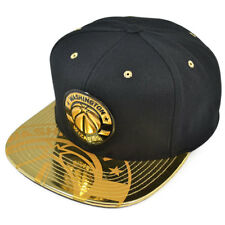 Washington Wizards TEAM STANDARD Snapback Mitchell   Ness NBA Hat-  Black Gold 8d29f2174cdc
