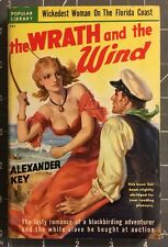 THE WRAITH AND THE WIND Alexander Key Vintage Western  PB Book 1950FN.