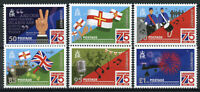 Guernsey Military & War Stamps 2020 MNH WWII WW2 Liberation Day 75 Years 6v Set