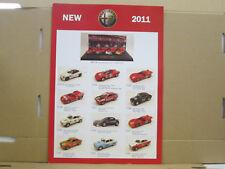M4 Modelcars Neuheitenblatt 2011, italienisch, 2 Seiten