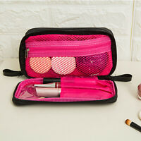 Travel Cosmetic Makeup Toiletry Bag Wash Organizer Storage Zipper Bags LD