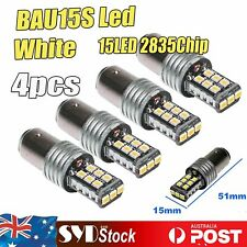 Canbus 2835SMD PY21W BAU15S 15LED Car Ute Brake Tail Backup Stop Lights (4PCS)