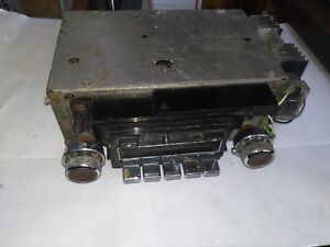 69-70 CADILLAC DEVILLE FLEETWOOD FACTORY GM RADIO 7307795