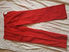 """MENS BNWT LACOSTE RED CHINO TROUSERS SIZE 40"""" WAIST 34"""" LEG"""