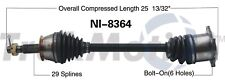 Rear Right/Left CV Axle Shaft SurTrack NI-8364 for Nissan 350Z G35 Q45 2002-09