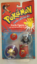Pokemon Battle Figures - Gengar and Meowth