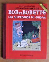 Album Inédit Couleur BOB et Bobette editions 200 ex le Cinquantenaire