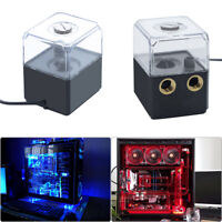 G1/4 300L/h DC12V Silent PC Water Cooling Circulating Pump w/ 130ml Water Tank