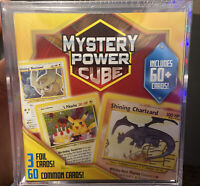 SEALED Pokemon Mystery Power Cube 60 Cards. Shining Charizard? Vintage Pokémon?